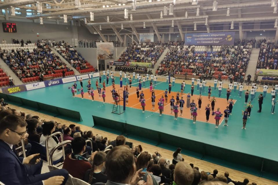 Открыта новая спортивная арена в Сосновом Бору Фото: администрация Ленобласти