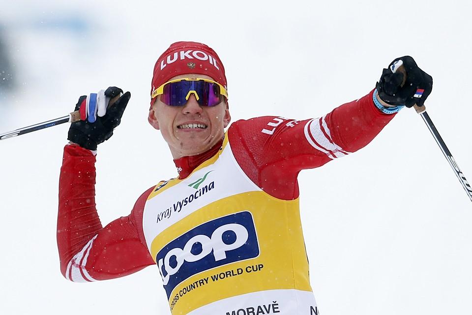 Теперь российский лыжник в погоне за Хрустальным глобусом опережает ближайшего конкурента более чем на 200 очков
