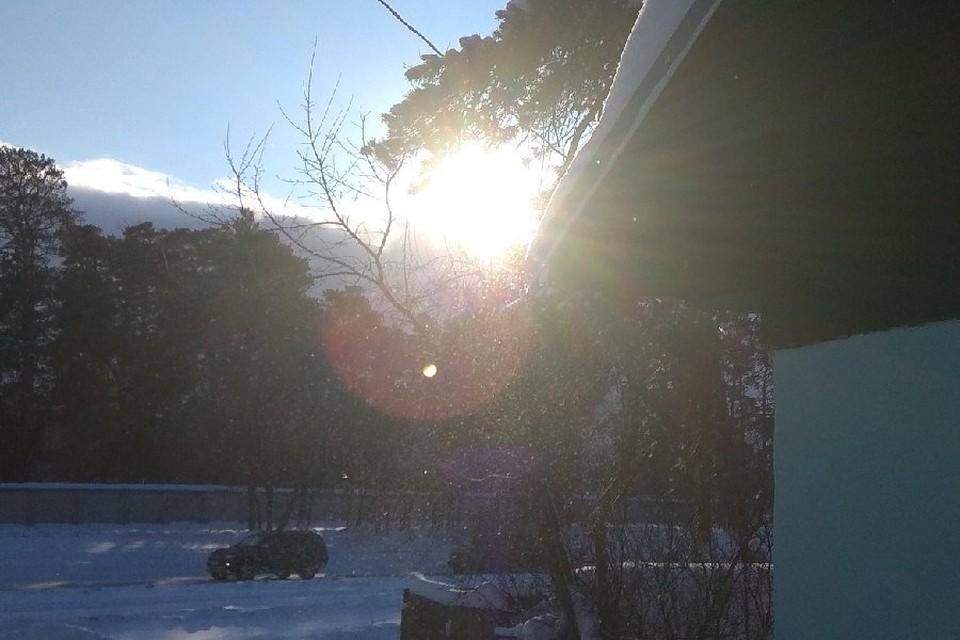 Мороз и солнце.