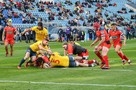 В Сочи сборная России по регби уступила Испании в матче ЧЕ