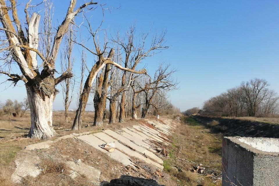 Воды в Северо-Крымском канале нет уже почти шесть лет.