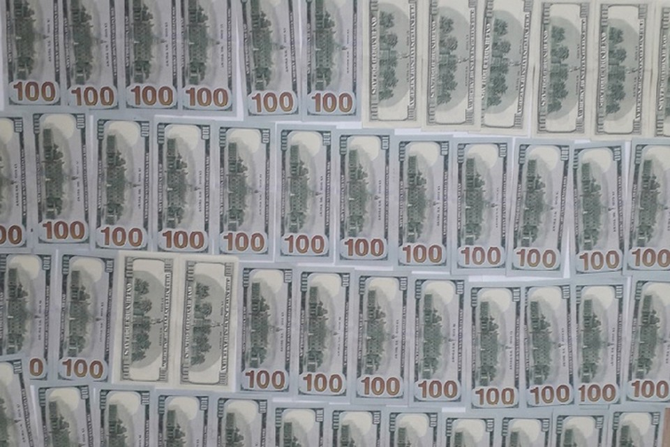 Эти деньги были изъяты у обвиняемых. Фото: Следственный комитет.