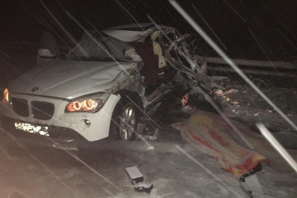 От бокового удара погиб водитель BMW. Фото: vk.com/id331209086