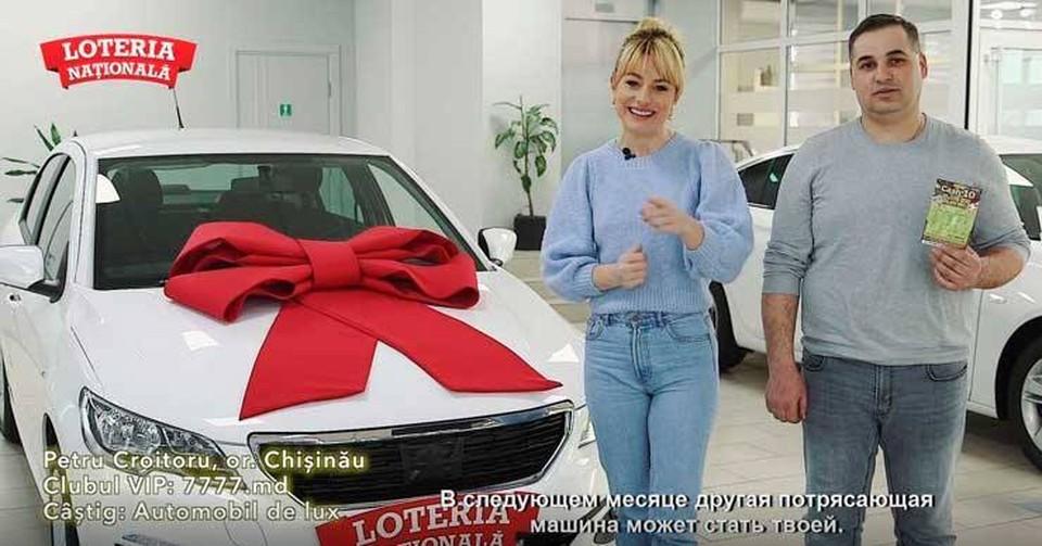 Победитель Национальной лотереи срочно вернулся в Молдову за крупным выигрышем