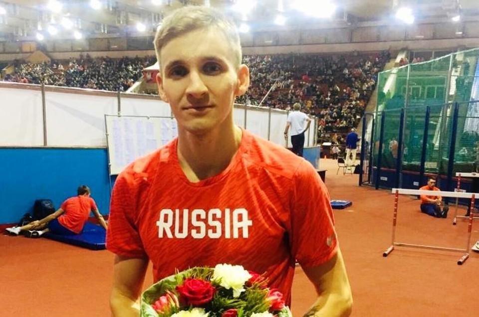 Курский легкоатлет Максим Федяев