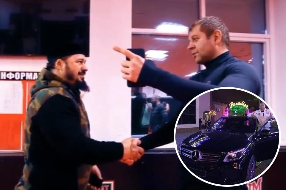 «На машину Рамзана»: Емельяненко поспорил с командиром СОБРа, что год не будет пить
