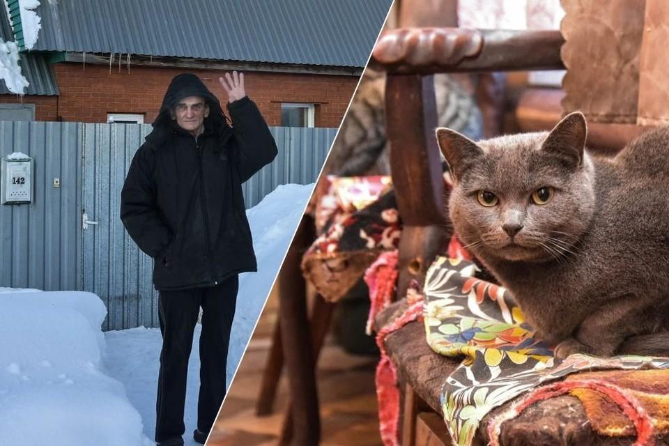 Сергей Меренко готов отписать свой дом тому, кто будет любить его кошек также, как он.