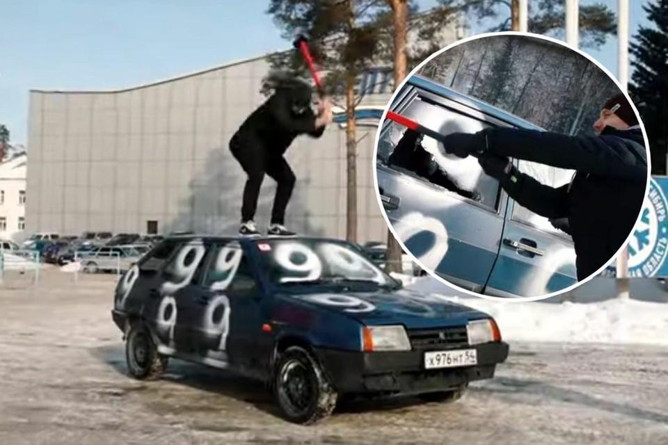 Так хоккеисты «снимали проклятие». Фото: предоставлено ХК «Сибирь».