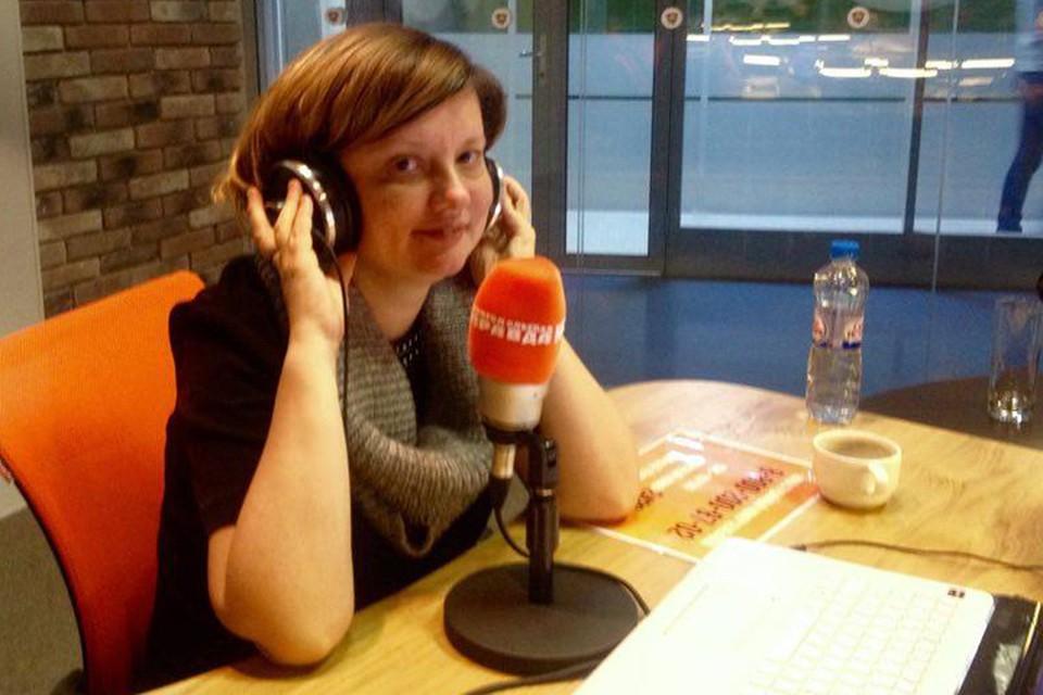 Алена Владимирская в гостях у Радио «Комсомольская правда».
