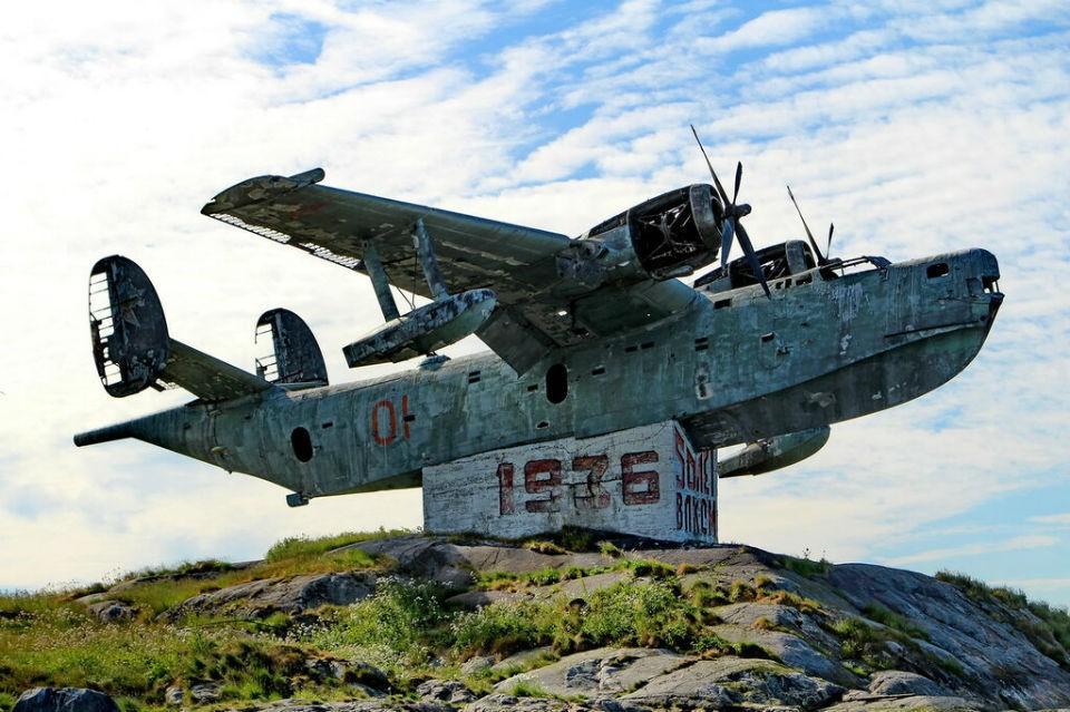 Так самолет Бе-6 выглядит сейчас. Фото: архив музея