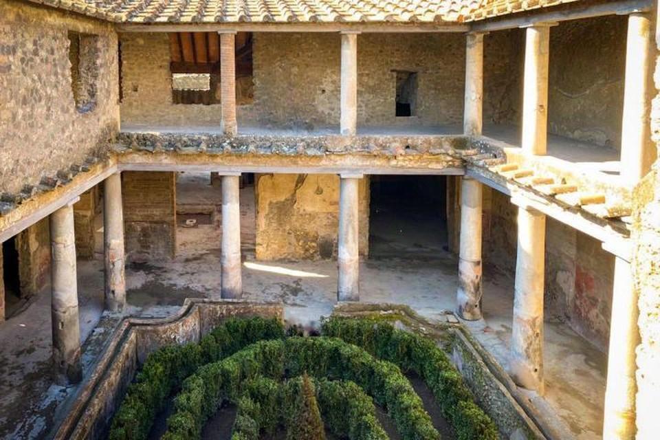 Спустя 40 лет для публики в Помпеях открылись три дома с фресками. Фото: Министерство культуры и туризма Италии