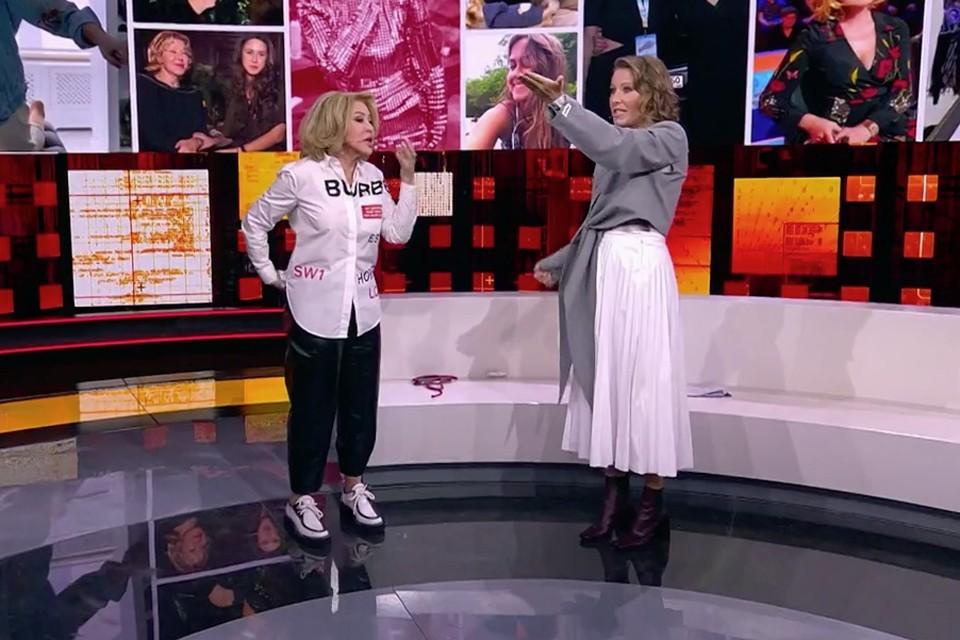 Новый выпуск программы «Док Ток» про Любовь Успенскую окончился скандалом. Фото: Первый канал