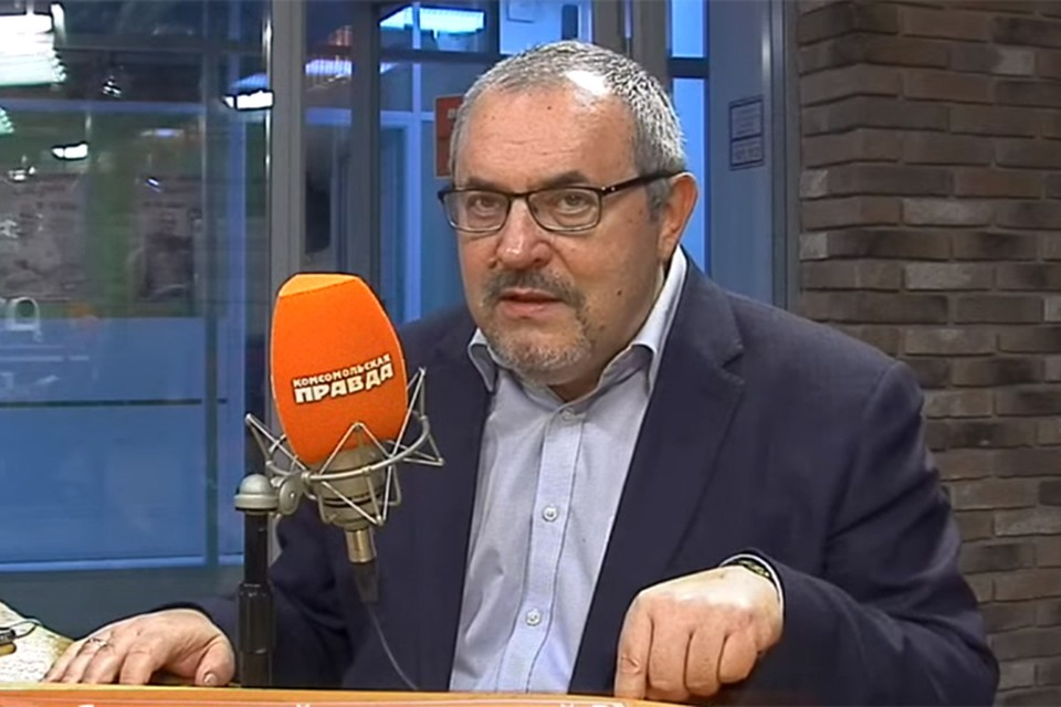 Политик Борис Надеждин в студии Радио «Комсомольская правда».