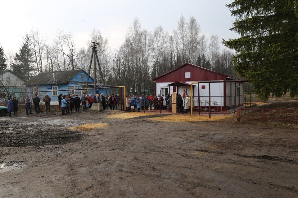 Орловский губернатор проинспектировал строительство ФАПов в Малоархангельском районе. Фото пресс-службы губернатора