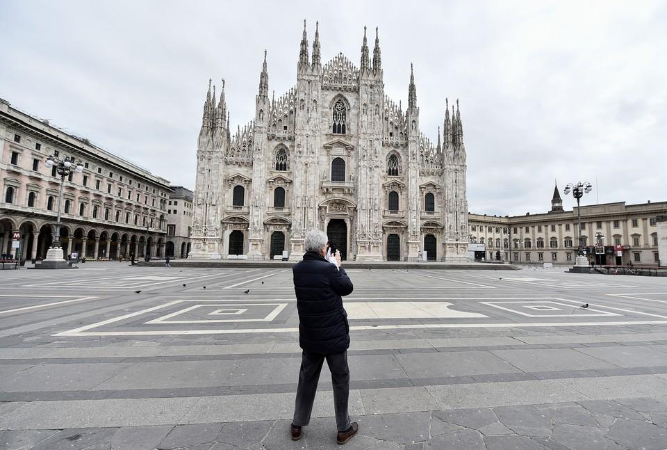 Италия уже несколько дней живет общенациональным режимом карантина.