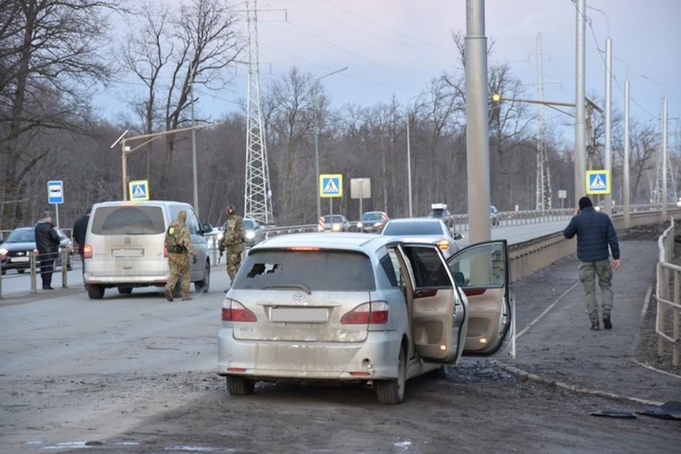 Напавшего ликвидировали прямо в автомобиле Фото: НАК