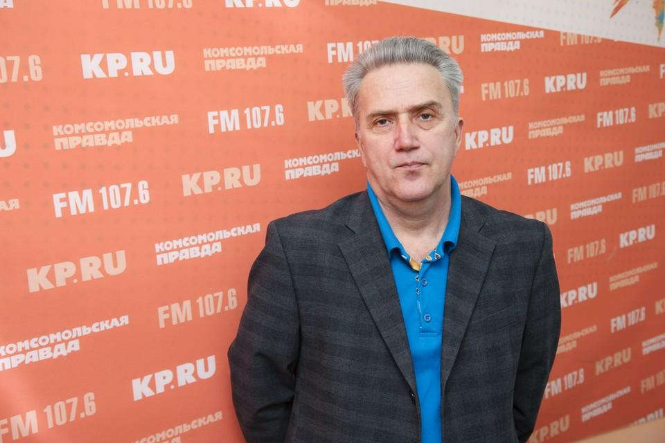 Художественный руководитель и главный дирижёр Академической хоровой капеллы Удмуртии Андрей Елисеев