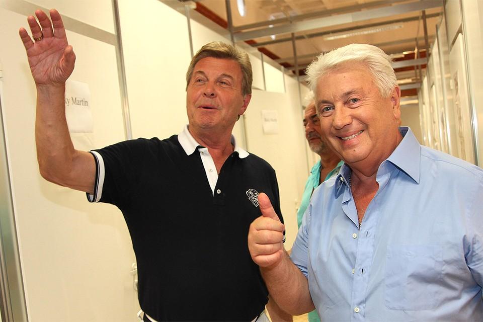 Лев Лещенко и Владимир Винокур дружат уже много лет.