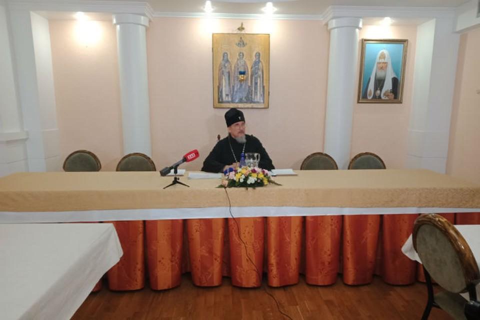 В Чите митрополит отказывается соблюдать карантин. Фото: пресс-служба Читинской епархии.