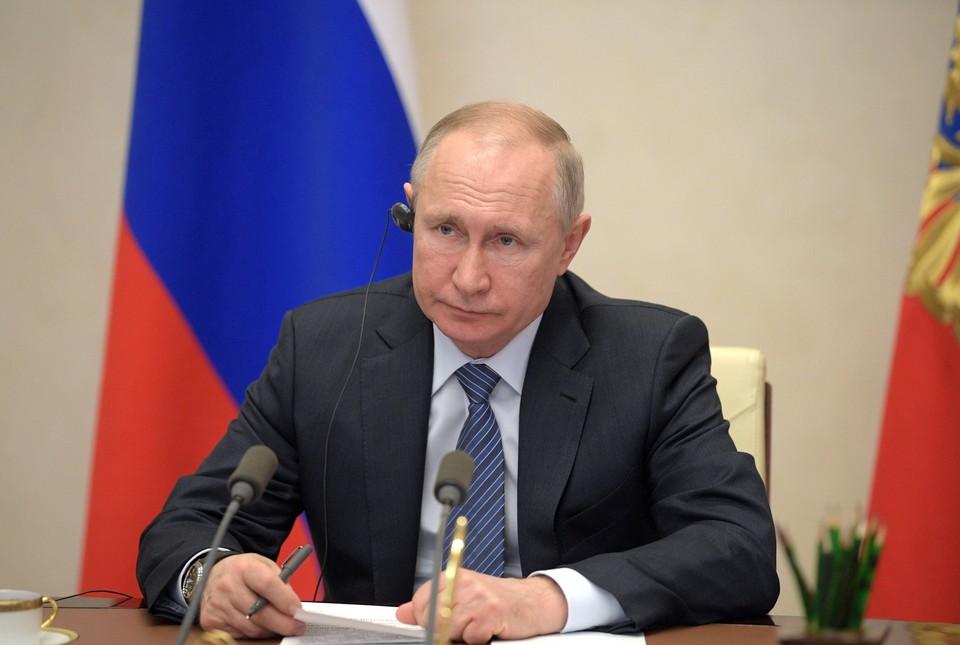 Владимир Путин принял участие в саммите G20, который состоялся в режиме видеоконференции.