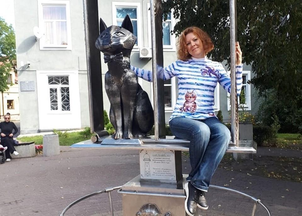 Идею будущего кота-оберега Алена Самарцева привезла из Зеленоградска Фото: из архива героя публикации