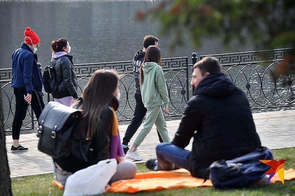 Москвичи проигнорировали карантин и отправились в парки в выходные