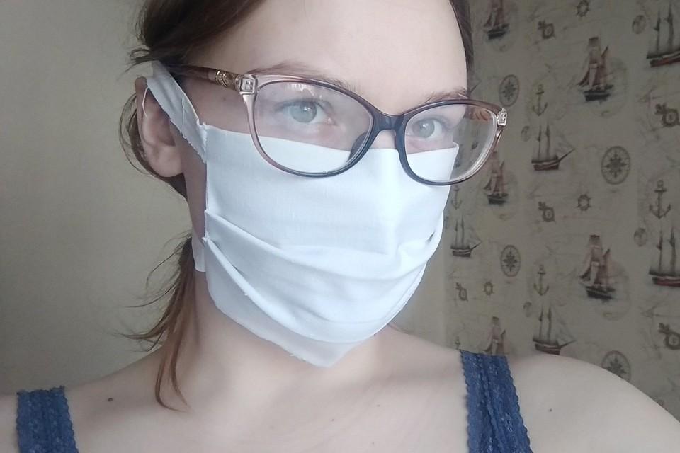 Защитная маска своими руками.