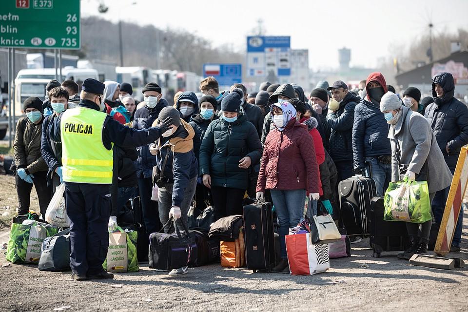 Bсего на Буковину вернулись уже полторы тысячи гастарбайтеров, и продолжают ехать