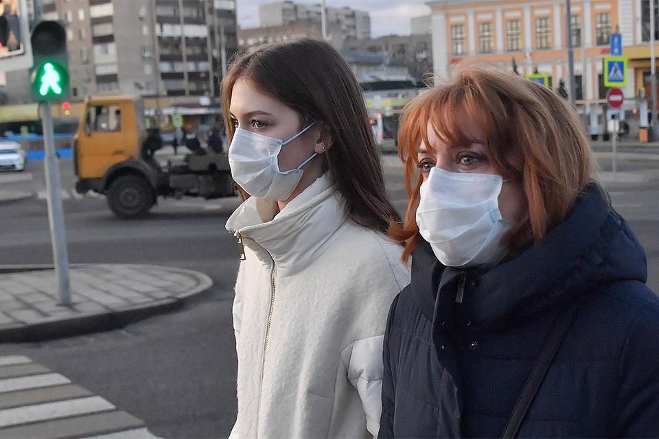 В Москве налицо повышенный спрос на медицинские маски.