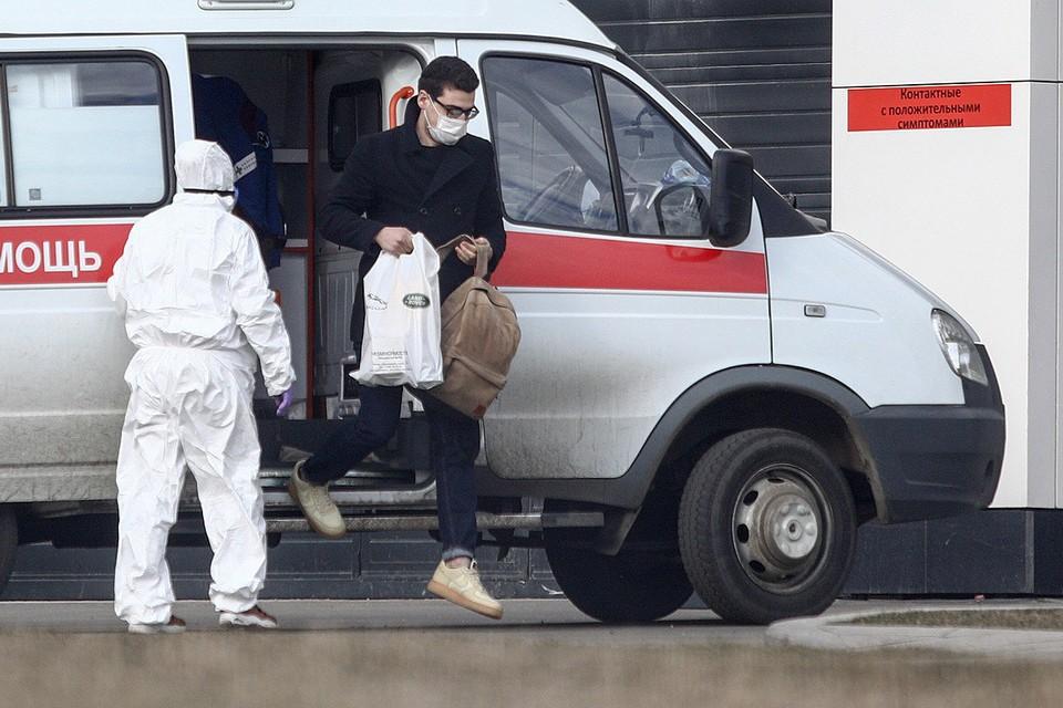 Прием нового пациента больницей в Коммунарке. Фото: Кирилл Зыков / АГН Москва