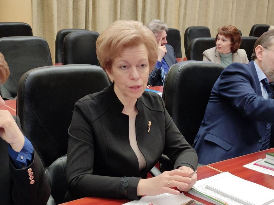 Наталья Мазина, министр здравоохранения Саратовской области