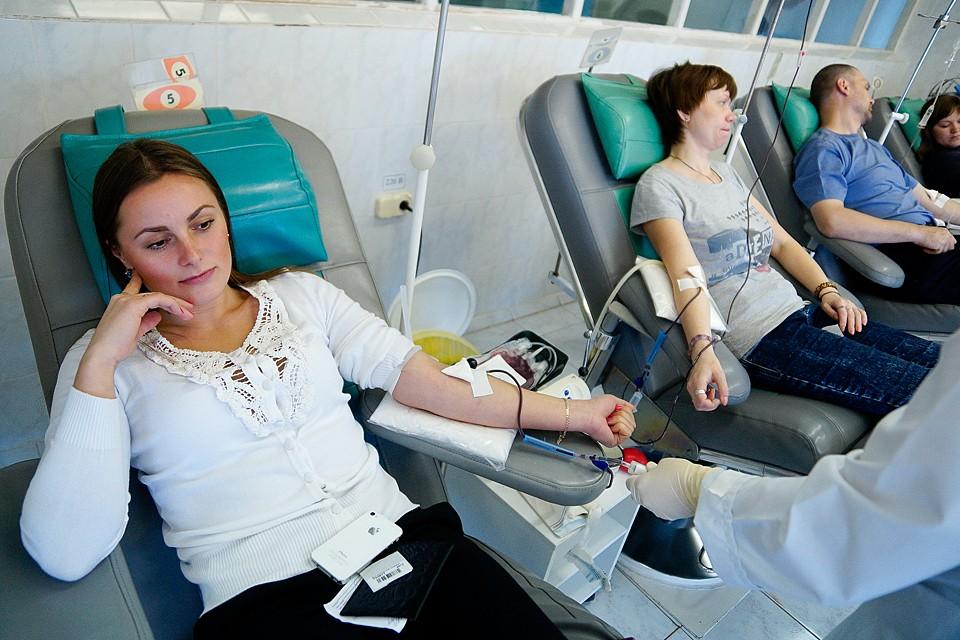 Донорство крови снизилось в несколько раз