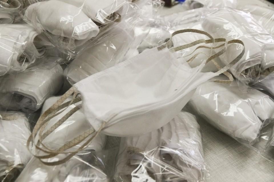 В аптеки Владивостока поступила в продажу очередная партия медициских масок.