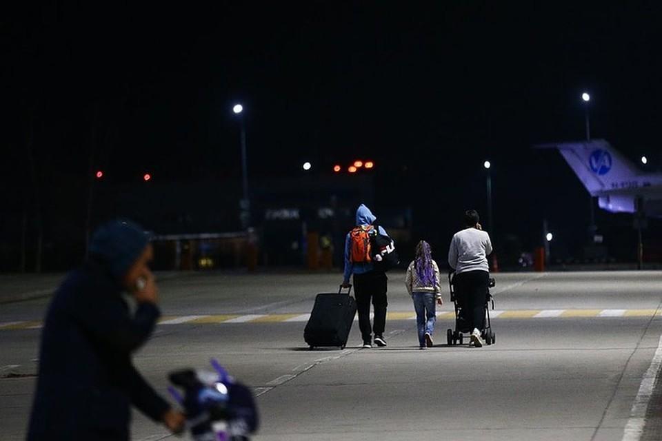 Прибывшие в страну провели несколько дней в изоляции Фото: Vl.ru