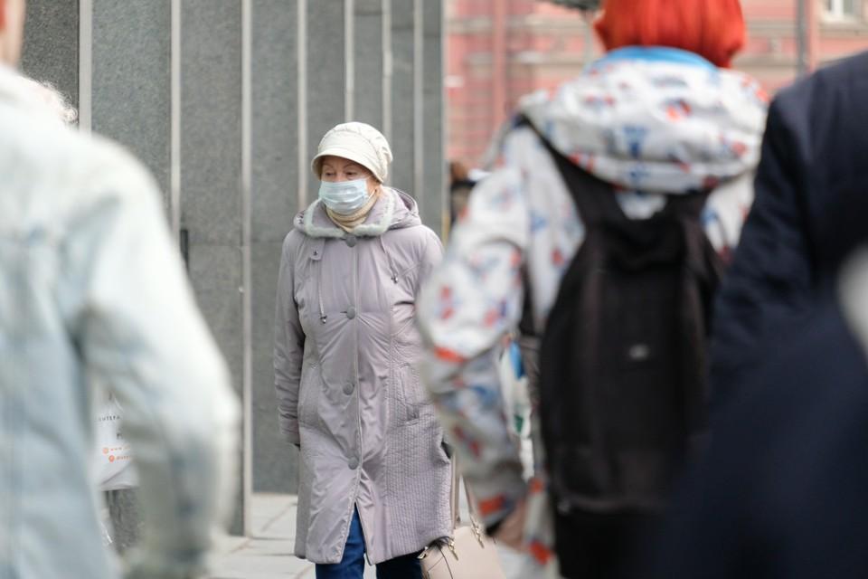 В Санкт-Петербурге выросло число зараженных коронавирусом