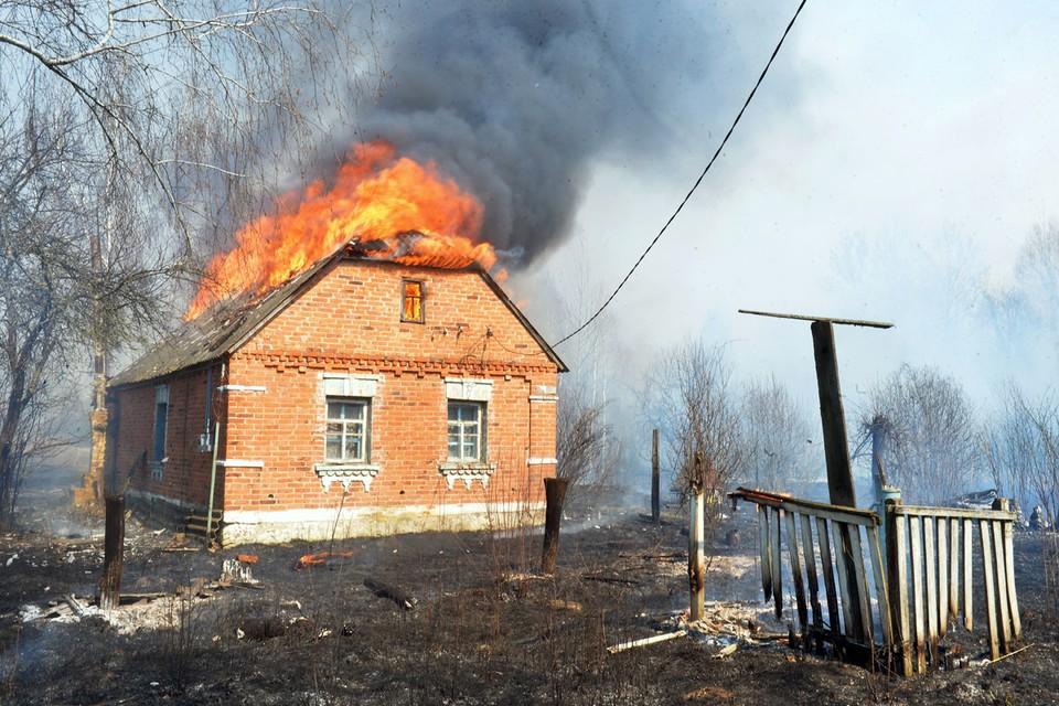Это далеко не первый пожар в Чернобыльской зоне и можно надеяться, что его потушат или он сам погаснет. Фото: Петр Сивков/ТАСС
