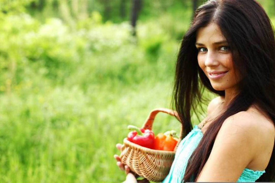 Витамина С в красном перце в 4 раза больше, чем в апельсинах.