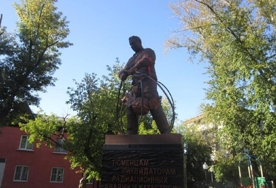 В Тюмени перенесли торжества у памятника ликвидаторам радиационных аварий и катастроф. Фото - 2Гис.