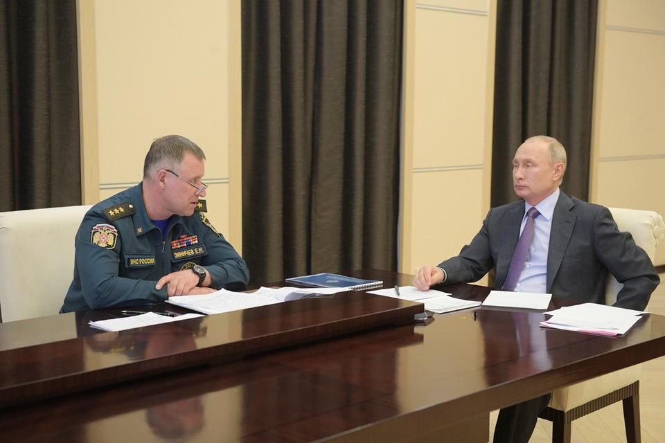 Путин - губернаторам: Сами покатайтесь по таким дорогам, поймете, что надо действовать побыстрее!