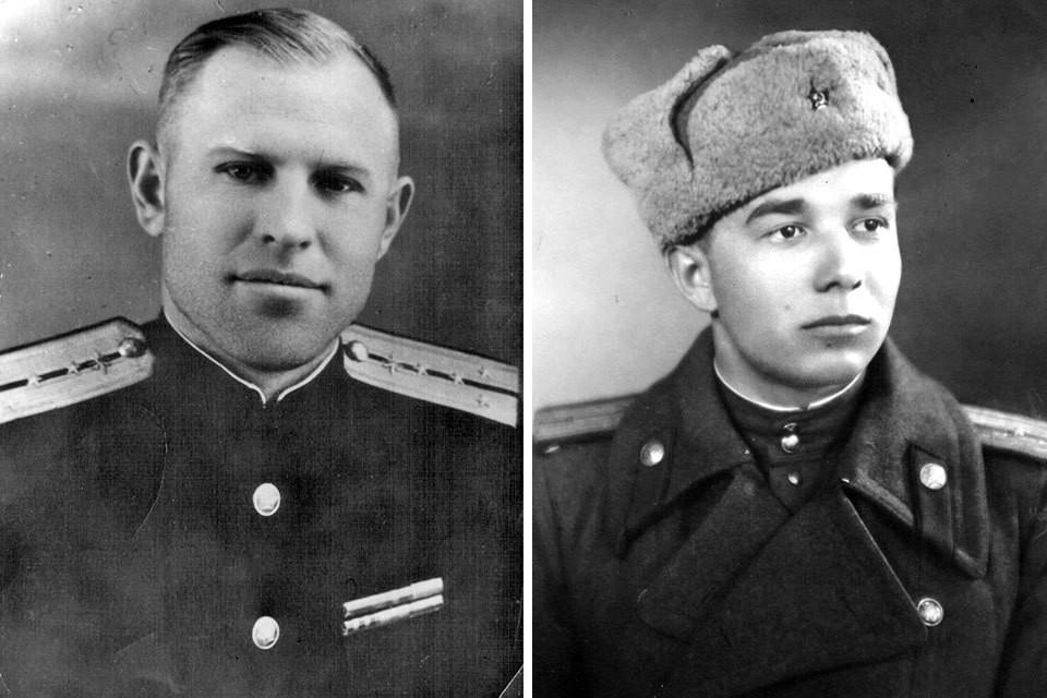 Ветераны Алексей Романов и Василий Козинцев