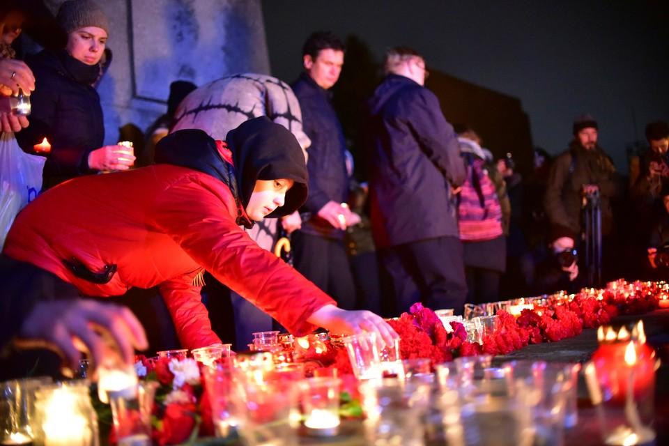 Акция «Свеча памяти» в Новосибирске стала традицией.