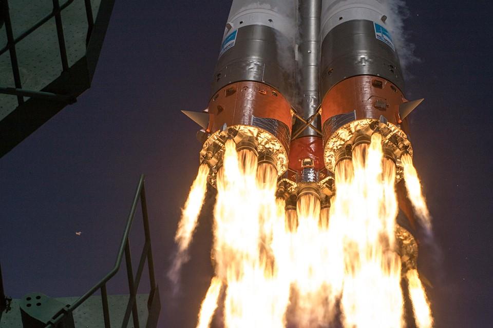 В апреле с Байконура на корабле «Союз МС-16» на станцию отправился новый экипаж