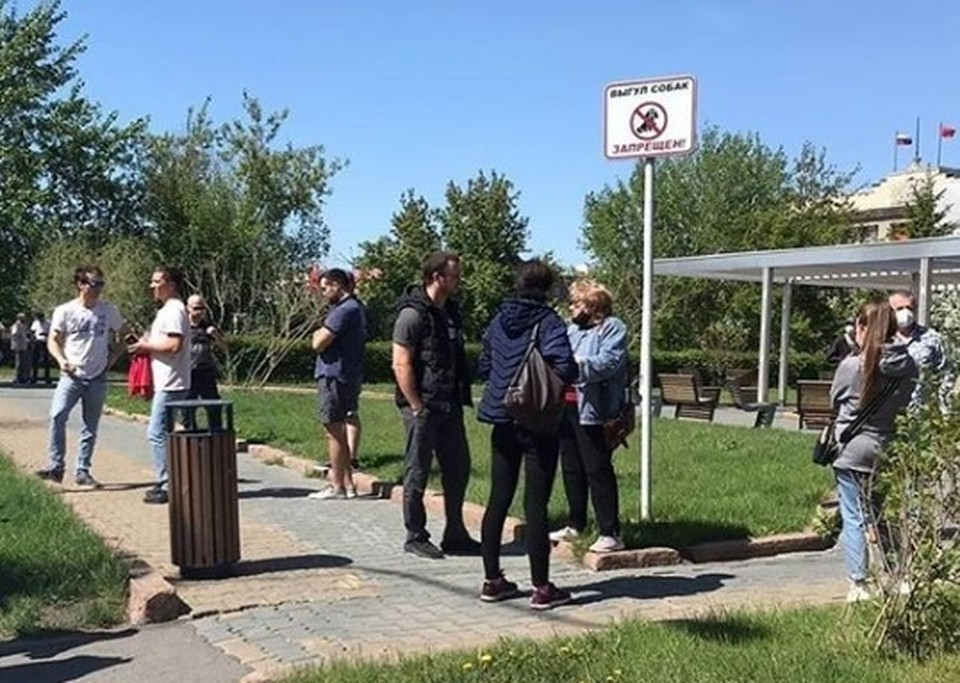 После ареста Анатолия Быкова в Красноярске прошли митинги. Фото: Красноярск против, инстаграм.