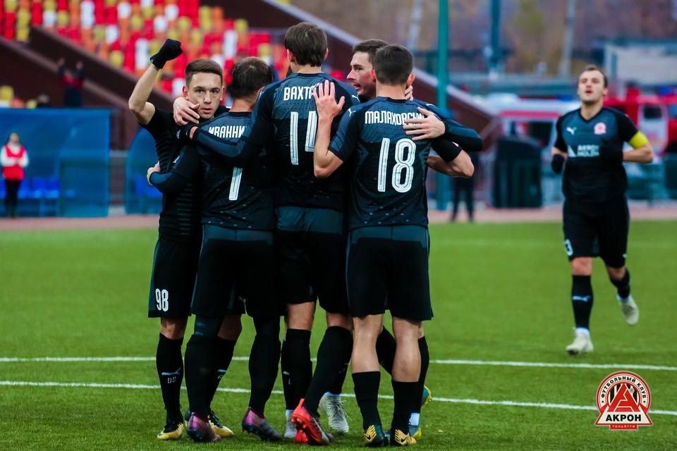 На профессиональном уровне все домашние матчи тольяттинский клуб провел в Жигулевске. Фото: ФК «Акрон» (Тольятти).
