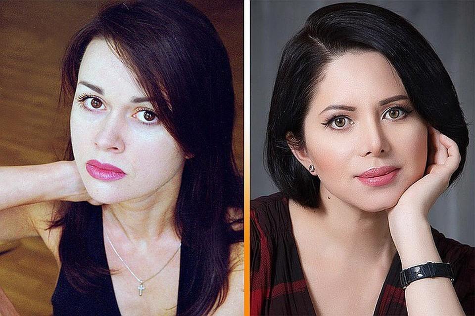 Раньше Виктория Ворожбит (справа) была похожа на Анастасию Заворотнюк, как сестра-близнец. Фото: личная страничка в соцсети + Global Look Press
