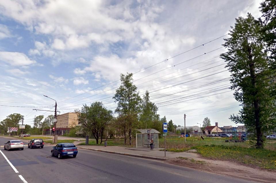 Новые остановки начнут устанавливать с Московского шоссе. Фото: www.google.ru/maps