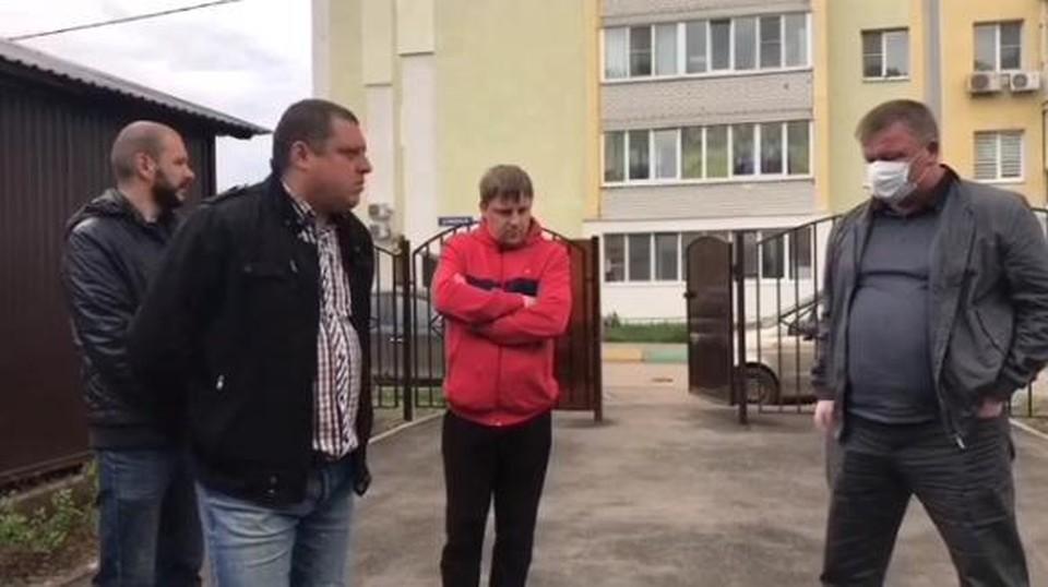 Встреча Михаила Исаева с общественным советом микрорайона «Звезда»