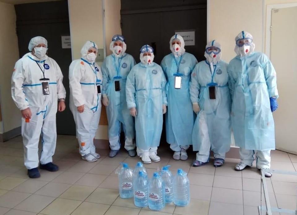 Врачи 52-й больницы сейчас сражаются с коронавирусом и поддержка им очень необходима.