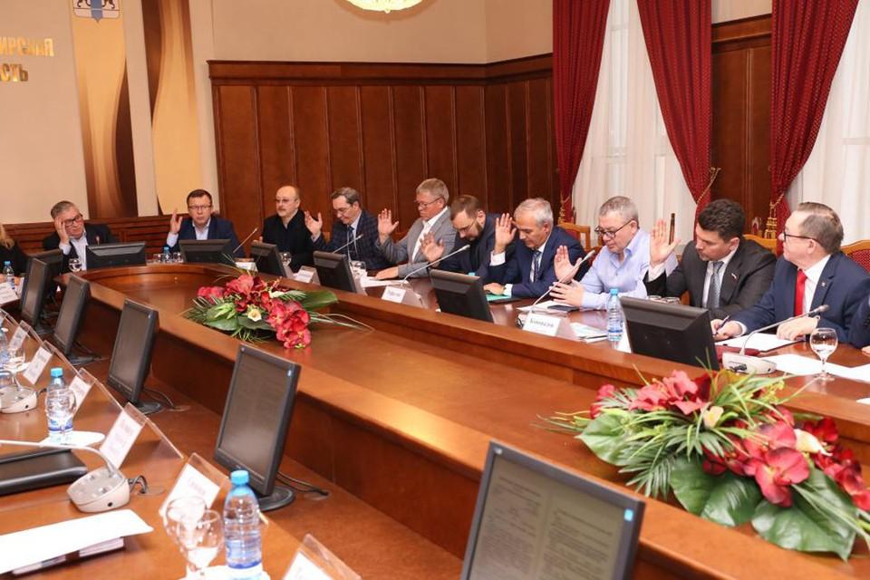 Комитет по строительству, ЖКХ и тарифам рассматривает вопросы поддержки жилищного строительства. Фото: zsnso.ru