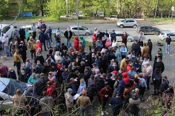 Жители Красного Знамени задумались об отчуждении едва не вырубленной зеленой зоны из частных рук